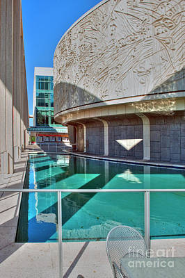 Photograph - Ahmanson Theatre Music Center by David Zanzinger