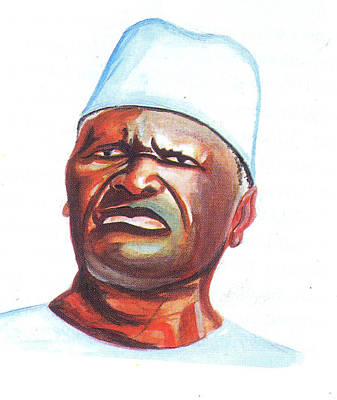 Ahmed Sekou Toure Art Print