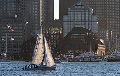 Photograph - Ahoy Boston  by Juergen Roth