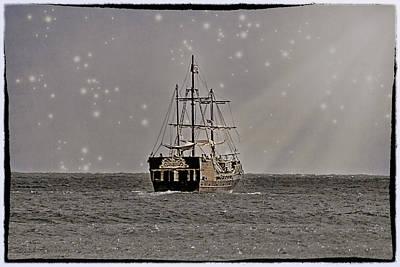 Photograph - Ahoy Matey by Linda Tiepelman