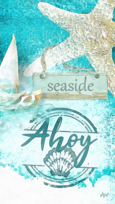 Mixed Media - Ahoy by Mo T