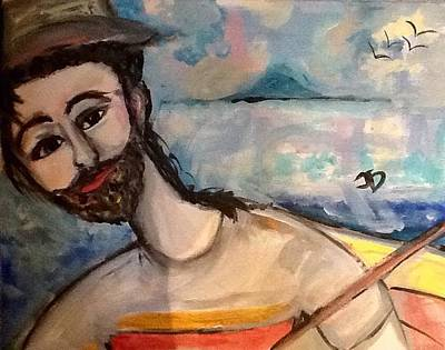 Painting - Ahoy There by Judith Desrosiers