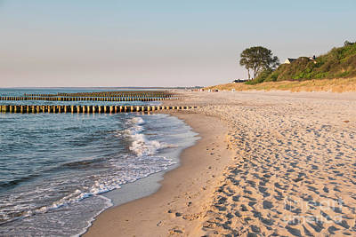 Germany Photograph - Ahrenshoop Beach by Julie Woodhouse