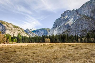 Photograph - Ahwahnee Meadow by Adam Rainoff