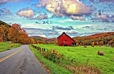 West Virginia Photograph - Ah...west Virginia by Steve Harrington