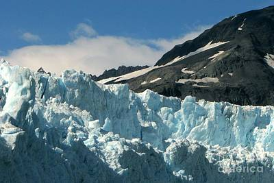 Photograph - Aialik Glacier by Frank Townsley