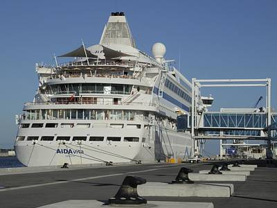 Photograph - Aidavita At Terminal One by Bradford Martin