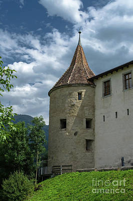 Photograph - Aigle Castle Backside by Michelle Meenawong