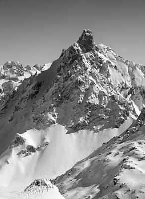 Ski-scape Photograph - Aiguille Du Fruit by Graham Moore