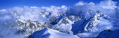 Mountain Photograph - Aiguille Du Plan Alps France by Panoramic Images