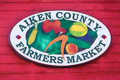Photograph - Aiken County Farmers Market by Shirley Radabaugh