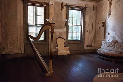 Photograph - Aiken Rhett House Living Room by Dale Powell