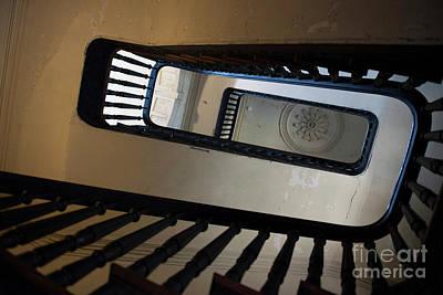Photograph - Aiken Rhett Stairs by Dale Powell