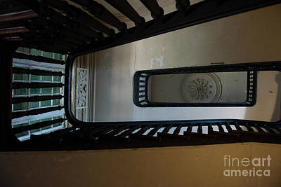 Photograph - Aiken Stairs by Dale Powell