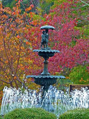 Photograph - Aiken's Morgan Fountain by Jean Wright