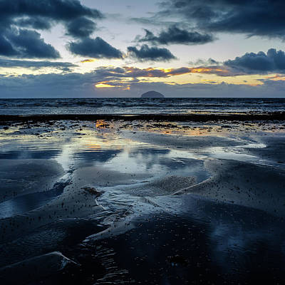 Photograph - Ailsa Craig by Peter OReilly
