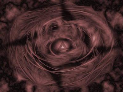 Curve Digital Art - Aimp2 by Maye Loeser