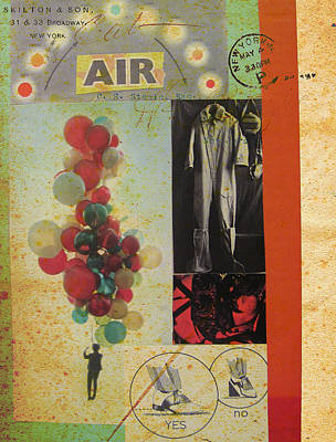 Mixed Media - AIR by Adam Kissel