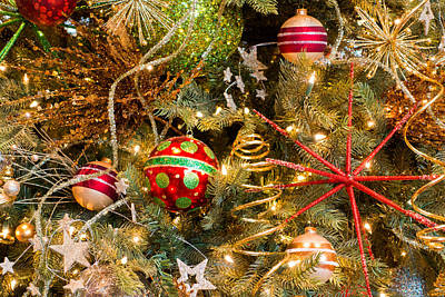 Photograph - Air And Space Christmas Tree by SR Green