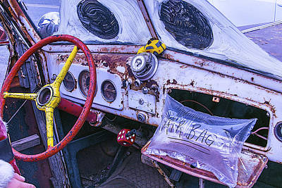 Aging Photograph - Air Bag by Garry Gay
