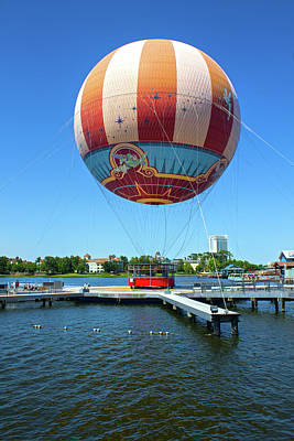 Photograph - Air Balloon by Carlos Diaz