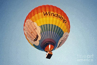 Air Balloon Art Print