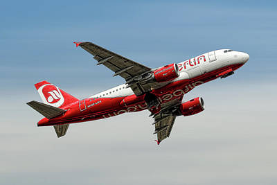 City Mixed Media - Air Berlin Airbus A319-112 by Smart Aviation