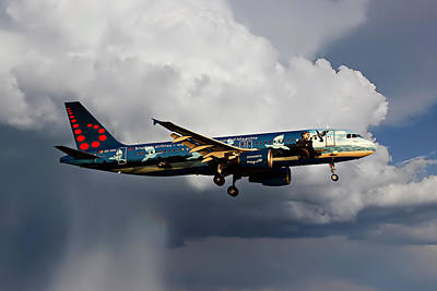 Brussels Photograph - Air Brussels by Nichola Denny