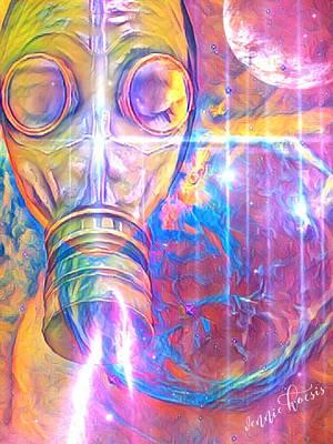 Digital Art - Air Bugs by Vennie Kocsis
