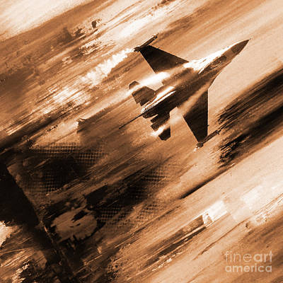Lockheed Aircraft Painting - Air Craft 021 by Gull G