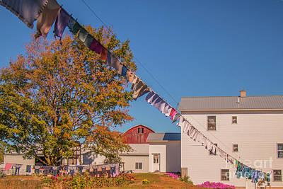 Photograph - Air Dry Clothes by Danielle Allard