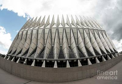 Photograph - Air Force Academy Chapel - I by David Bearden