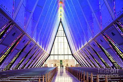 Photograph - Air Force Academy Chapel I by Deborah Klubertanz