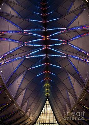 Photograph - Air Force Academy Chapel - II by David Bearden