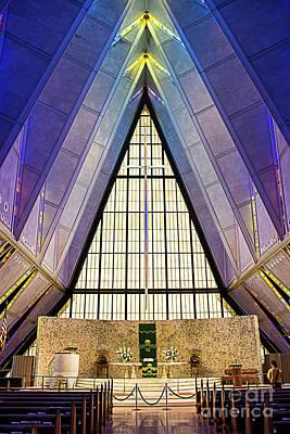 Photograph - Air Force Academy Chapel II by Deborah Klubertanz