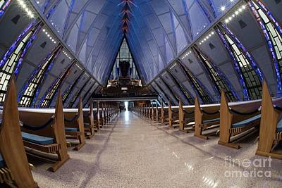 Photograph - Air Force Academy  Chapel - IIi by David Bearden