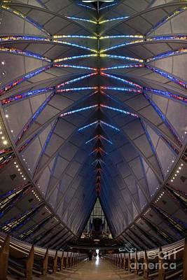 Photograph - Air Force Academy Chapel - V by David Bearden