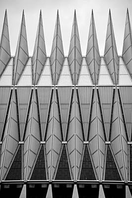 Photograph - Air Force Chapel Exterior Study 4 by Robert Meyers-Lussier