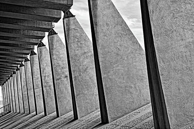 Photograph - Air Force Chapel Study 11 by Robert Meyers-Lussier