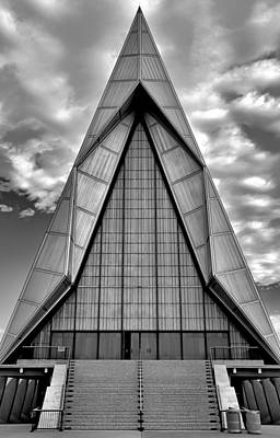 Photograph - Air Force Chapel Study 9 by Robert Meyers-Lussier