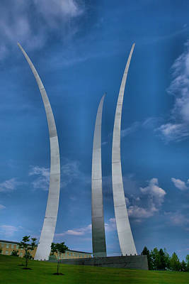 Air Force Memorial Iv Print by Steven Ainsworth