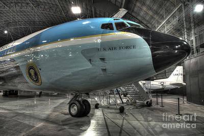 Air Force One - Boeing Vc-137c Sam 26000 Art Print