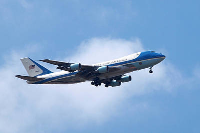 Photograph - Air Force One by Gill Billington