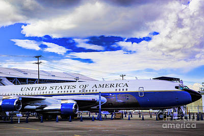 Photograph - Air Force One by Rick Bragan