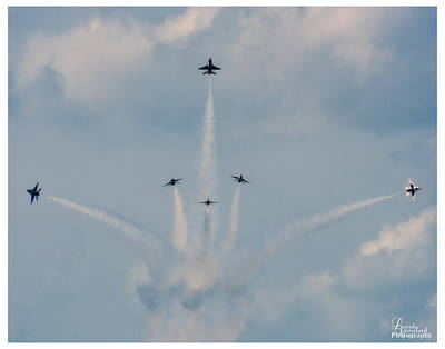 Photograph - Air Force Thunderbirds by Linda Constant