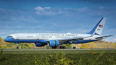 Photograph - Air Force Two by Guy Whiteley