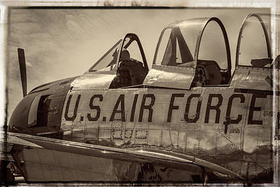 Photograph - Air Force Vintage by Steven Bateson