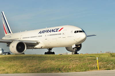 Photograph - Air France by Puzzles Shum