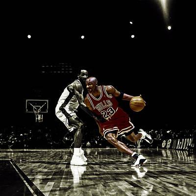 Air Jordan Shake Art Print by Brian Reaves