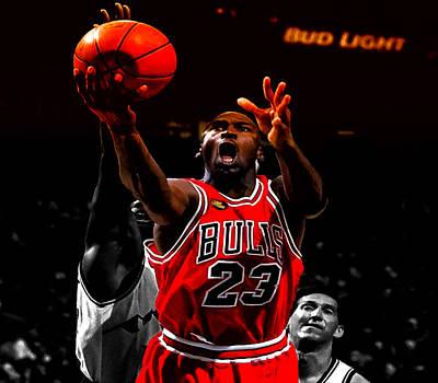 Patrick Ewing Digital Art - Air Jordan Soft Touch II by Brian Reaves